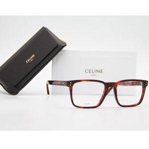 New Eyeglasses Celine CL 50030I 003 Square Eyewear
